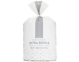 Prince & Spring Ultra Paper Bowls - 135ct x 20oz - Cut & Grease Resistance, Micr