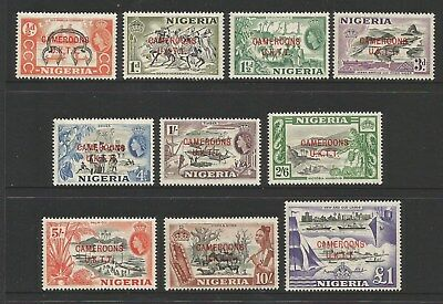 Cameroons 1960 Part Set To £1. Mint Light Hinged. See Description.