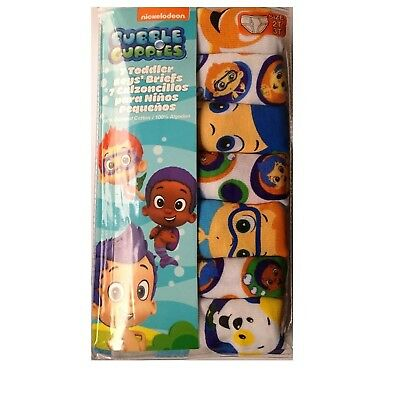 Handcraft Bubble Guppies Toddler Boys 2T-6T 7 Pack Brief