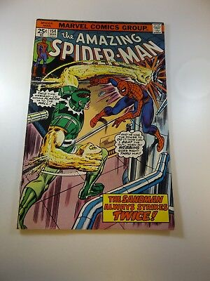 Amazing Spider-Man #154 VF- condition MVS intact Huge auction going on now!