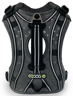 EQDOG Pro Harness Multifunktions-Hundegeschirr Gr. XS - XL Black-reflective