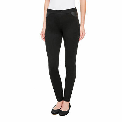 NWT DKNY Jeans Women's Legging Pull On Ponte Stretch Pant Black Select Size
