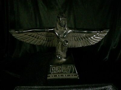 ANCIENT EGYPTIAN ANTIQUE STATUE Goddess ISIS Stone EGYPT Winged Bring Health BC