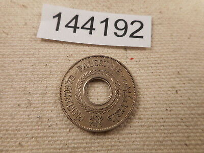 1939 Palestine 5 Mils - Nice Collector Grade Album Coin - Low Start - # 144192