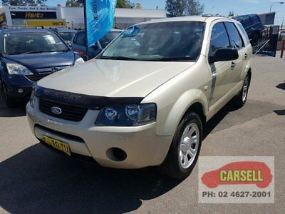 2008 Ford Territory SY TX Gold Automatic A Wagon