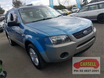 2006 Ford Territory Blue Wagon