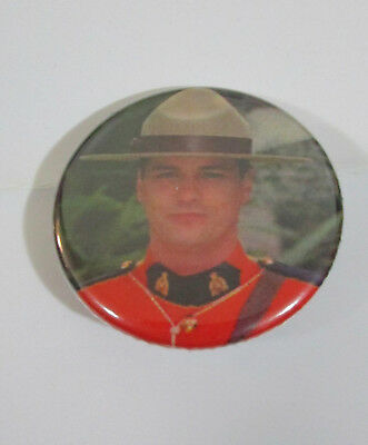 Due South Paul Gross Promo Pin Badge Button Canadian Television Expo 2018 RCMP