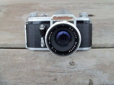 1955 CONTAX D With ZEISS C Z JENA 58mm f/2  LENS