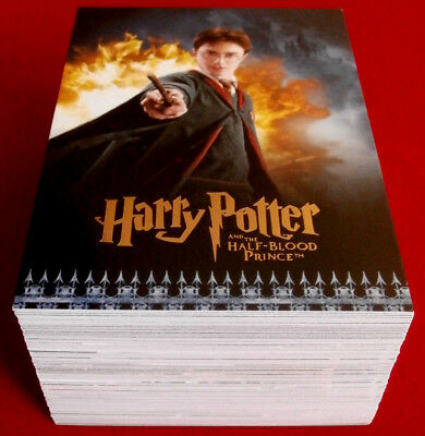 HARRY POTTER - HALF-BLOOD PRINCE - COMPLETE BASE SET of 90 trading cards ARTBOX