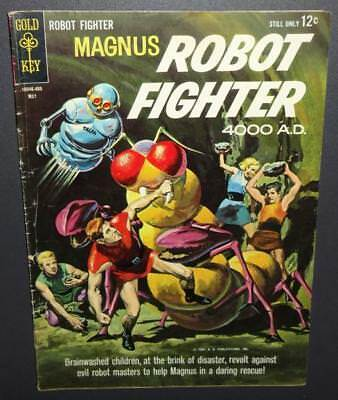 Magnus Robot Fighter #6 1964 5.0 Gold Key; Painted cover; Only $3 start