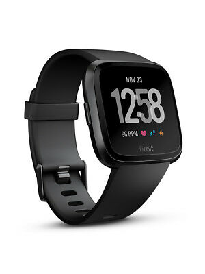 New Fitbit Versa Black Aluminum Preorder For Early May