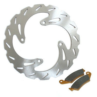 MX Front Brake Disc Rotor Pads For Kawasaki KX 125 250 03 04 05 KX-F 250 04-05