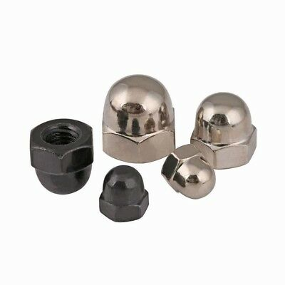 Hexagon Dome Nuts M3/4/M5/M6/M8/10/M12 Ni/Zinc Plated  Stainless Steel Domed Nut