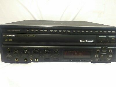 Pioneer CLD-V820 Karaoke LD/CD Multi Laser Disc Player Great Working Condition