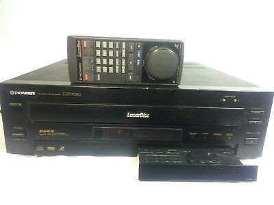 PIONEER CLD-3080 LASER DISC PLAYER CD CDV LD - TESTED w REMOTE