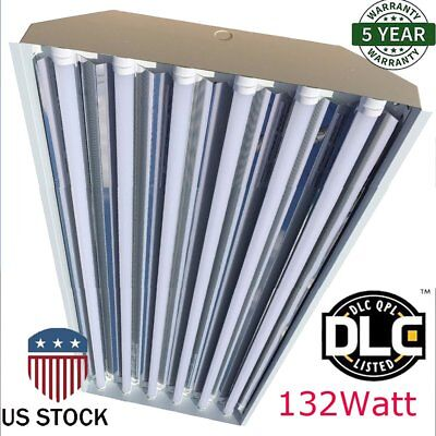6Bulb / Lamp T8 LED High Bay Warehouse Shop Commercial Light Fixture 2018 pro VI
