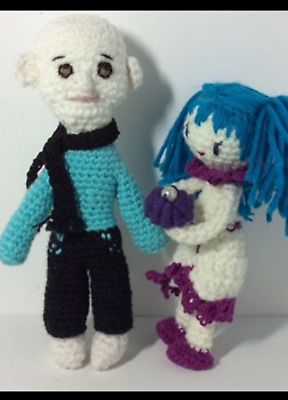 Fantomas  and His Girl-Amigurumi for Your Family