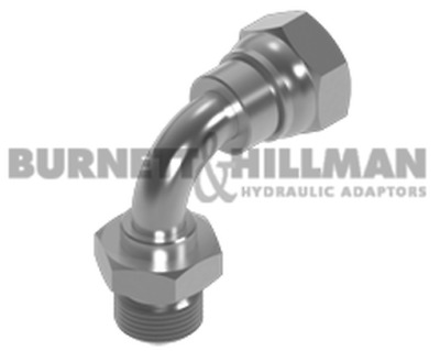Burnett & Hillman BSP Male x BSP Swivel Female 90° Swept Elbow Hydraulic Fitting