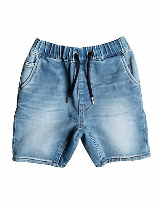 NEW QUIKSILVER™  Boys 2-7 Fonic Denim Short Boys Children