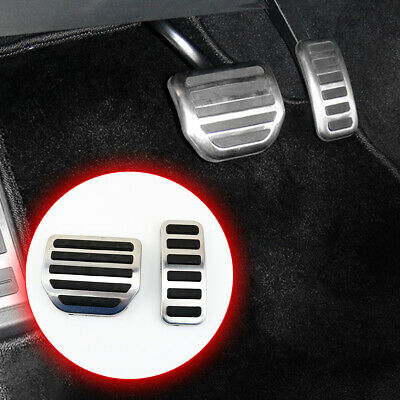 Car Foot Brake Fuel Accelerator Pedal Cover For Range Rover Sport LR Discovery 4