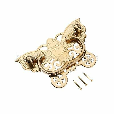 Chinese Butterfly Style Brass Pull Handle Knob 92*60mm For Drawer Cabinet Box PC