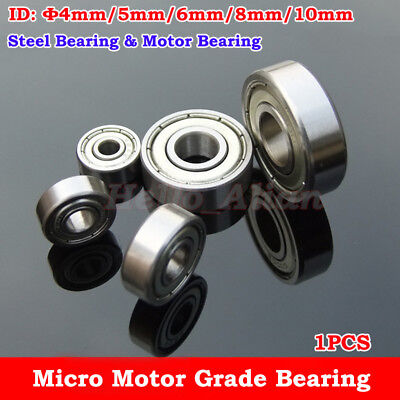 Car Toy Robot Motor Grade Carbon Steel Pulley Wheels Roller Groove Ball Bearings