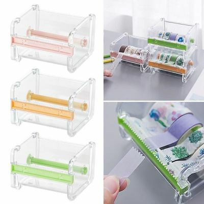 Desktop Washi Tape Dispenser Tape Cutter Tape Storage Papierrollen Halter