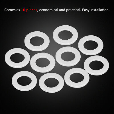 Hot 10pcs 14mm Oil Drain Plug Crush Washer Gaskets For Honda Acura 94109-14000