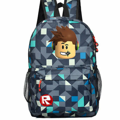 Roblox Backpack Kids School Bag Students Boys Bookbag Handbags Travelbag