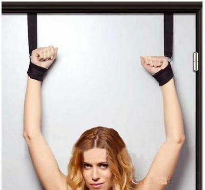 Kit de retenue / attaches poignets à une porte / SM / Soumission / Bondage