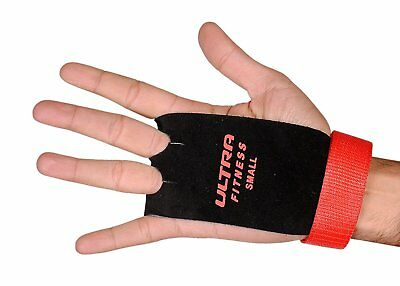 Leather Grips Gymnastic Palm Protectors Wod Hand Guards Gym Gloves Pull up SQ