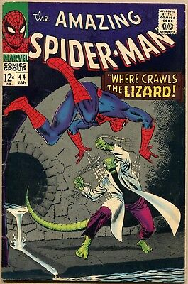 Amazing Spider-Man #44 - VG/FN - 2nd Appearance Of The Lizard