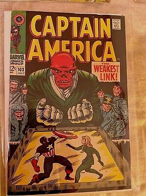 Captain America, Avengers    MIsc. comics lot   (5 books)     Silver Age