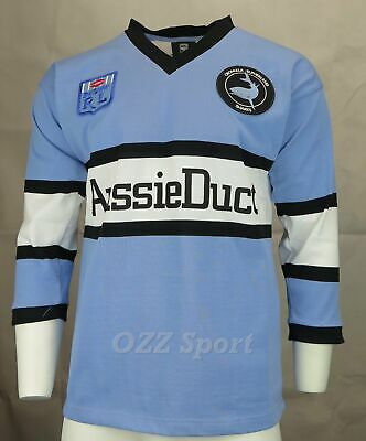 Cronulla Sharks Retro 1988 Heritage Rugby League Jersey
