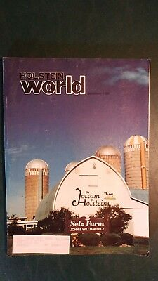 Holstein World 1989 Hanover Hill Dispersal +Selz Farm +Abs Book+World Dairy Expo