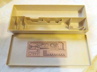 Silver Reed Knitmaster Knitting Machine Sk155 Bulky 9Mm Tool Accessory Box