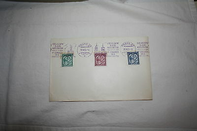 BriefSt. Cyril und St. Methodius + Stempel Katholikentag Prag / CSSR 1935