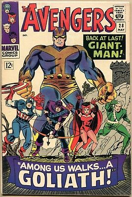 Avengers #28 - VG/FN - 1st Appearance Of The Collector