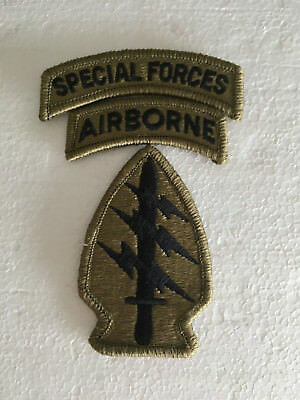 Army Abzeichen,Special Forces+Airborne+Special Forces Tab,multicam