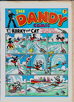 DANDY # 139 comic issue  July 27th 1940