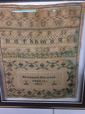 Antique Sampler 1817