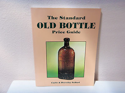 paperback price & identity guide-The Standard Old Bottles Price guide