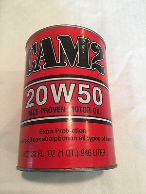 Cam2 Oil Can Bank