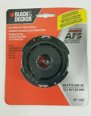 BLACK & DECKER DF-065 Auto-Feed Dual Line Replacement Trimmer Spool for  GrassHog