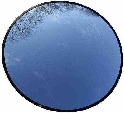 """Used 18"""" Convex Mirror Non Shattering Indoor/Outdoor Industrial Rated Security"""