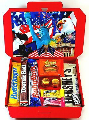 American Candy Gift Box Hamper | All Items Imported From The USA | Letterbox