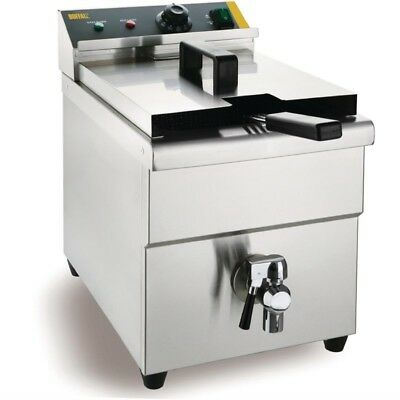 CP793 Gastronomie Induktionsfriteus Induktions Fritteuse Gastro Friteuse 1 Korb