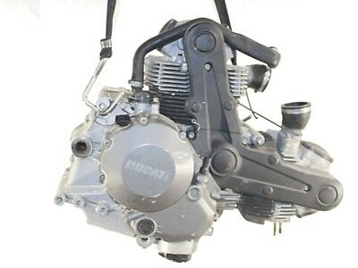 Motore Ducati Monster 696 2008 - 2014 696A2 Engine Carter Cover Laterali Strisci