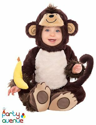 Baby Monkey Around Costume Monkey Toddler Fancy Dress