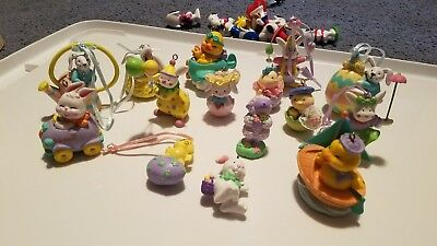 Lot of 15 Vintage Avon Easter Ornaments No Box all in new condition